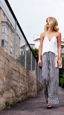 40 Ways to Wear Palazzo Pants for Summer Ideas 43