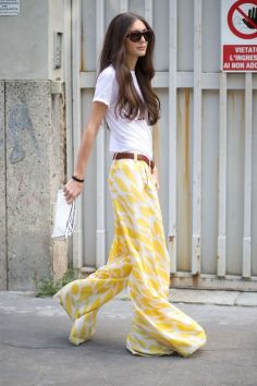 40 Ways to Wear Palazzo Pants for Summer Ideas 46