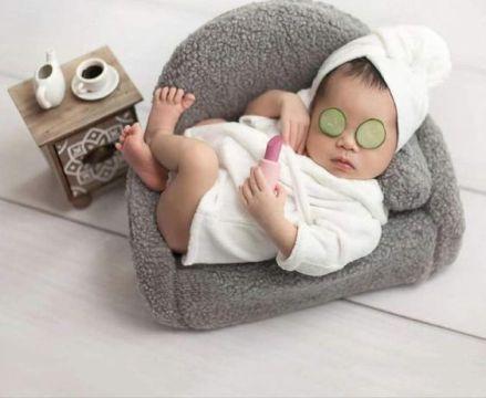 Cute Newborn Baby Girl Photo Ideas