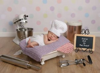 50 Cute Newborn Photos for Baby Girl Ideas 28