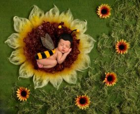 50 Cute Newborn Photos for Baby Girl Ideas 46