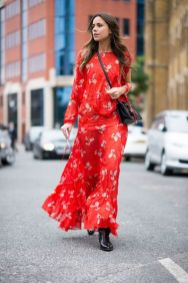 50 Fashionable Red Outfit Ideas 14