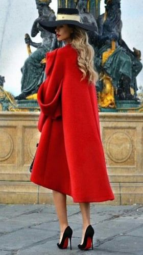 50 Fashionable Red Outfit Ideas 18