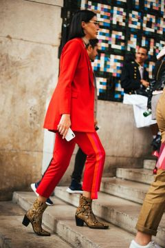 50 Fashionable Red Outfit Ideas 26