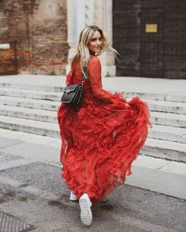 50 Fashionable Red Outfit Ideas 28
