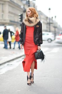 50 Fashionable Red Outfit Ideas 31