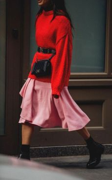 50 Fashionable Red Outfit Ideas 48