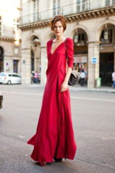 50 Fashionable Red Outfit Ideas 5