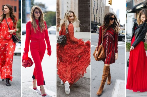 50 Fashionable Red Outfit Ideas