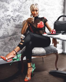 50 How to Wear Black Mesh Tops in Style Ideas 40