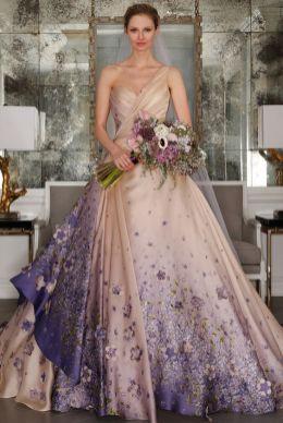 50 One Shoulder Bridal Dresses Ideas 23