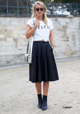 50 Ways to Wear Perfect Black and White in Fashion Ideas 1