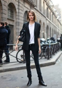 50 Ways to Wear Perfect Black and White in Fashion Ideas 13