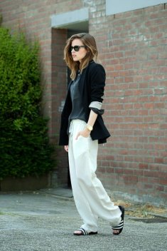 50 Ways to Wear Perfect Black and White in Fashion Ideas 19