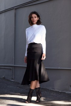 50 Ways to Wear Perfect Black and White in Fashion Ideas 20