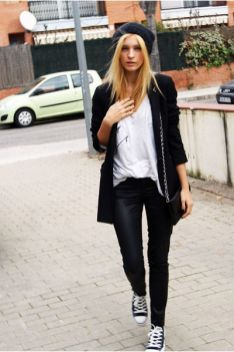 50 Ways to Wear Perfect Black and White in Fashion Ideas 21