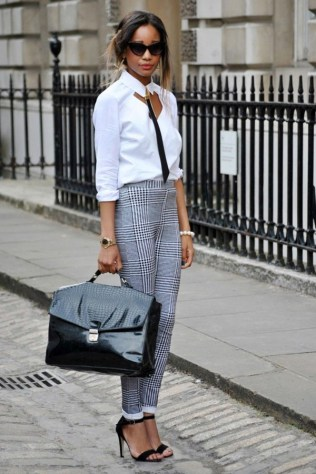 50 Ways to Wear Perfect Black and White in Fashion Ideas 23