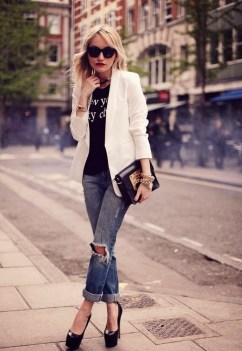 50 Ways to Wear Perfect Black and White in Fashion Ideas 25