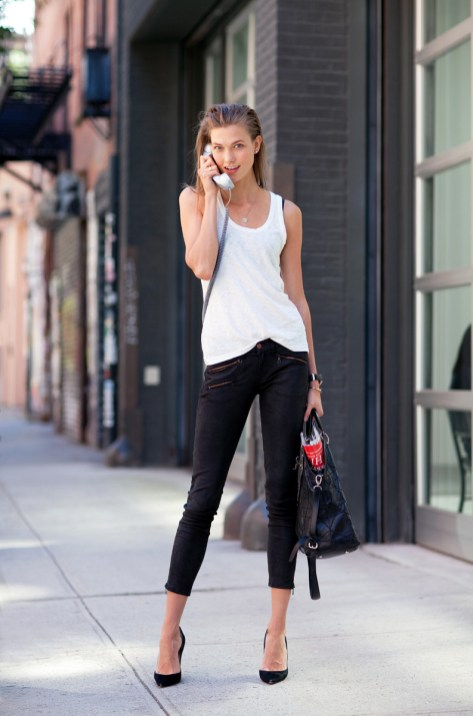 50 Ways to Wear Perfect Black and White in Fashion Ideas 26