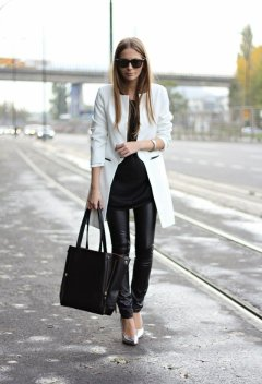 50 Ways to Wear Perfect Black and White in Fashion Ideas 28
