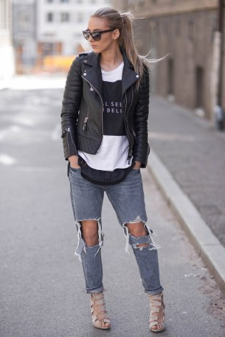 50 Ways to Wear Perfect Black and White in Fashion Ideas 46