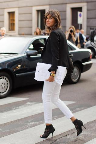 50 Ways to Wear Perfect Black and White in Fashion Ideas 48