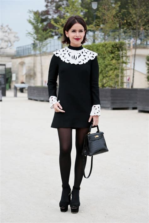 50 Ways to Wear Perfect Black and White in Fashion Ideas 49