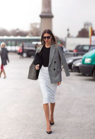 50 Ways to Wear Perfect Black and White in Fashion Ideas 6