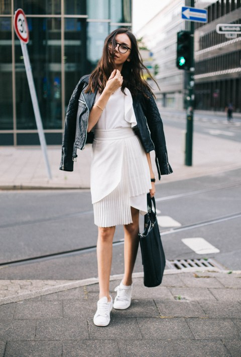 50 Ways to Wear Perfect Black and White in Fashion Ideas 9