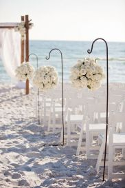 60 Beach Wedding Themed Ideas 20