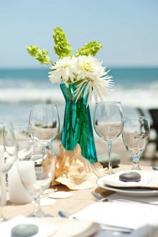 60 Beach Wedding Themed Ideas 27