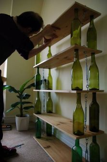 80 Ways to Reuse Your Glass Bottle Ideas 54
