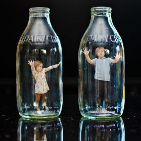 80 Ways to Reuse Your Glass Bottle Ideas 75