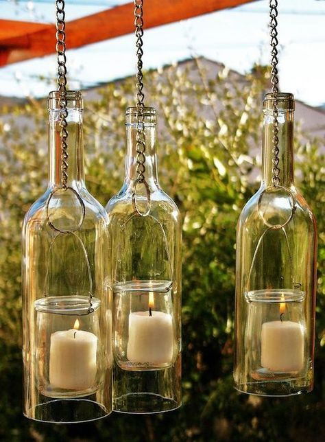 80 Ways to Reuse Your Glass Bottle Ideas 8