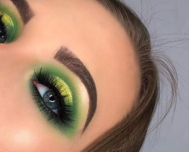 40 Green Eyeshadow Looks Ideas 14
