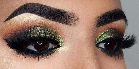 40 Green Eyeshadow Looks Ideas 4