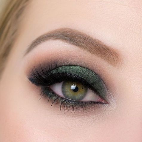 40 Green Eyeshadow Looks Ideas 5