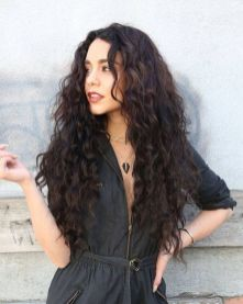 40 Loose Curly Natural Hairstyle Ideas 13