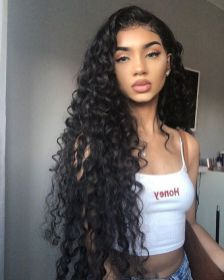 40 Loose Curly Natural Hairstyle Ideas 17