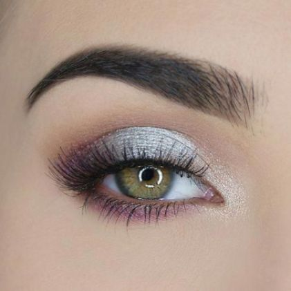 40 Silver Eye Makeup Looks You Need to Try 9
