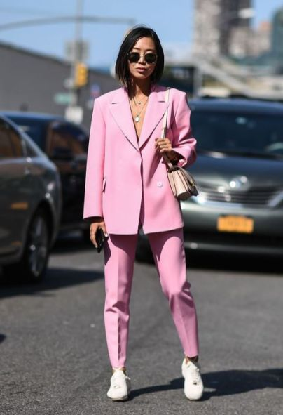 40 Ways to Wear Oversized Blazer for Women Ideas 13