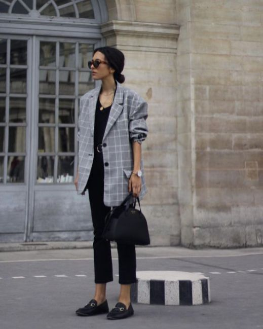40 Ways to Wear Oversized Blazer for Women Ideas 15