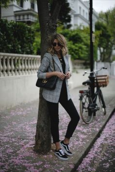 40 Ways to Wear Oversized Blazer for Women Ideas 26