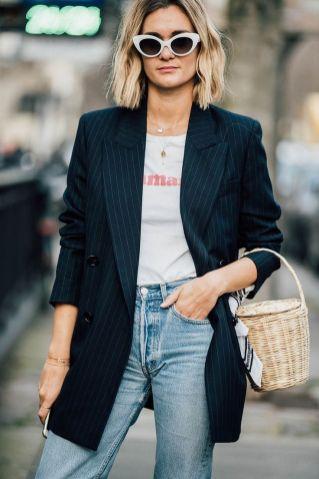 40 Ways to Wear Oversized Blazer for Women Ideas 35