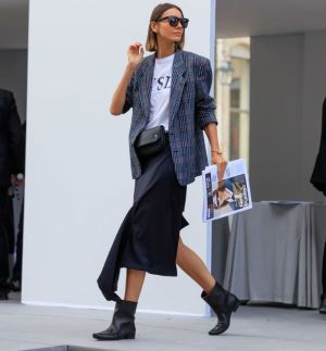 40 Ways to Wear Oversized Blazer for Women Ideas 4