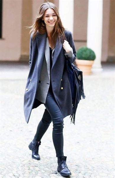 40 Ways to Wear Oversized Blazer for Women Ideas 42