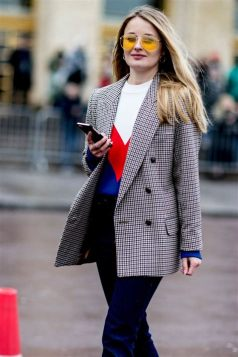 40 Ways to Wear Oversized Blazer for Women Ideas 45