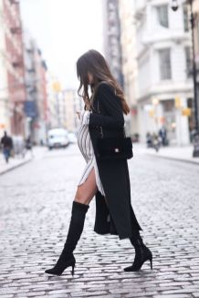 50 Comfy and Stylish Maternity Outfits Street Style Looks 17