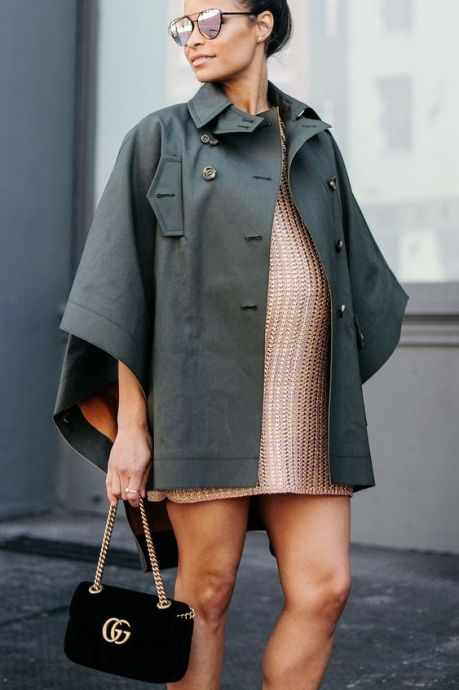 50 Comfy and Stylish Maternity Outfits Street Style Looks 19