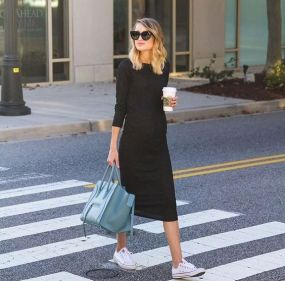 50 Comfy and Stylish Maternity Outfits Street Style Looks 23